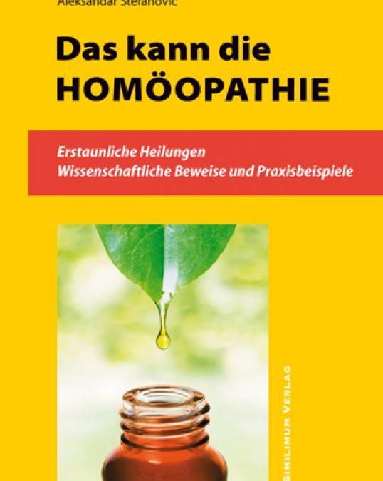 """Buchtipp: """"Das kann die Homöopathie … """""""