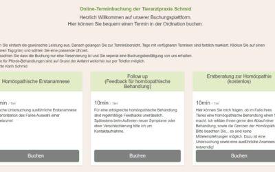 Online-Terminbuchung